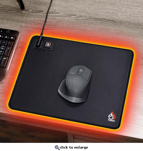 ToastiMat Heated Firing Up Cold Hand Warmer Mouse Pad