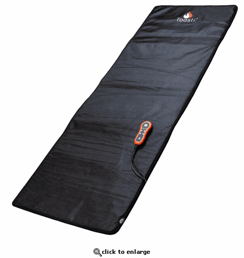 ToastiMat Whole-Body Heated Mat for Fitness, Yoga, Stress, Pain, Camping, Garage, and more
