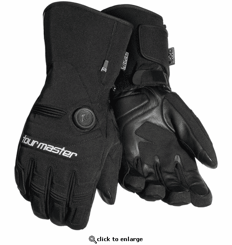 Tourmaster Synergy 7.4V Battery Heated Textile Gloves - Men's