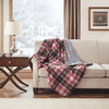 True North by Sleep Philosophy Jacob Heated Plush Throw - 60