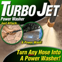 Turbo Jet Power Washer High Pressure Spray Nozzle