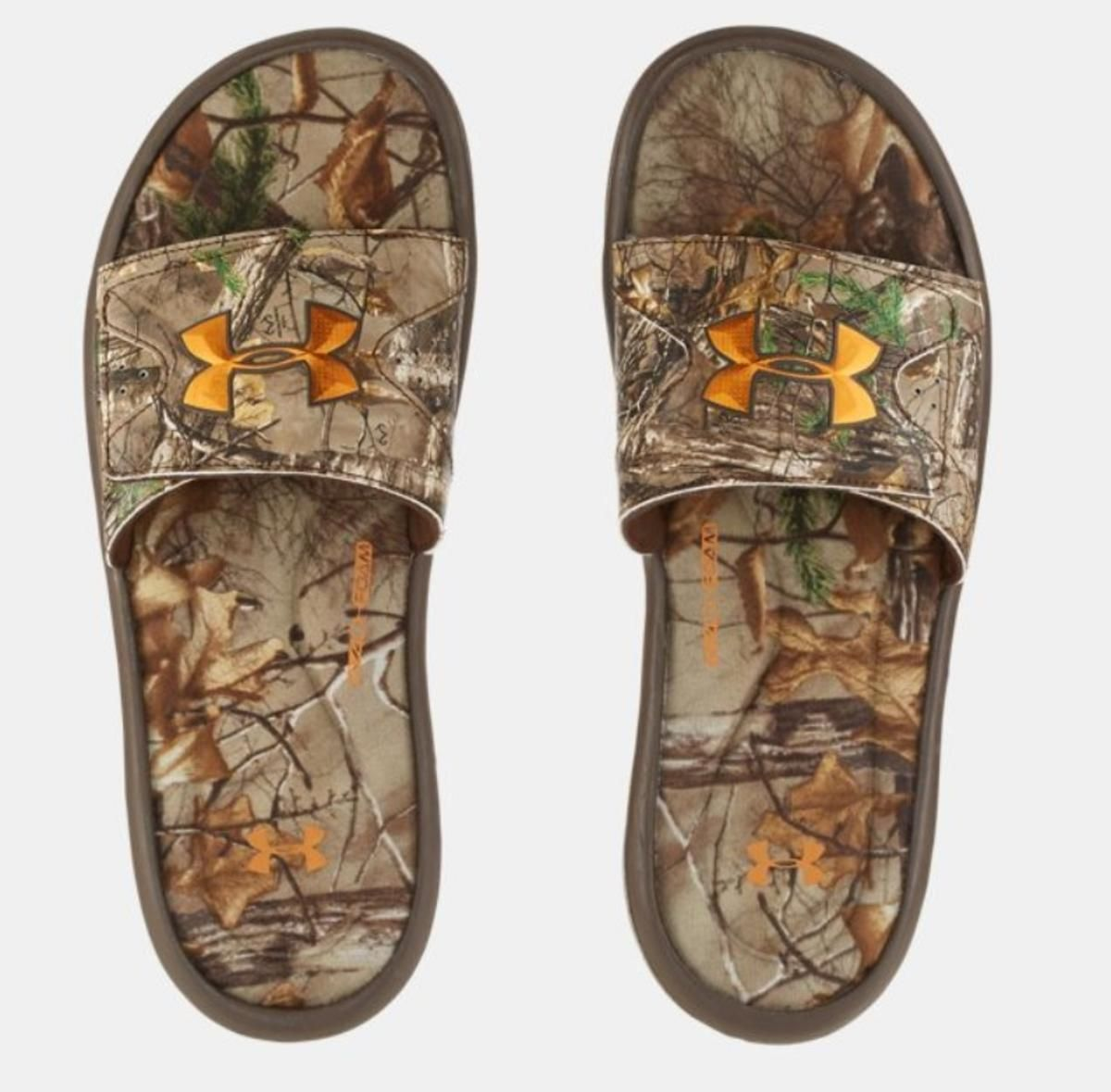 new product c0c3f 07bf2 Under Armour Men s UA Ignite Camo Slides - The Warming Store