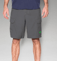 Under Armour Men's UA Fish Hunter Cargo Short - Black/Amalgam Gray
