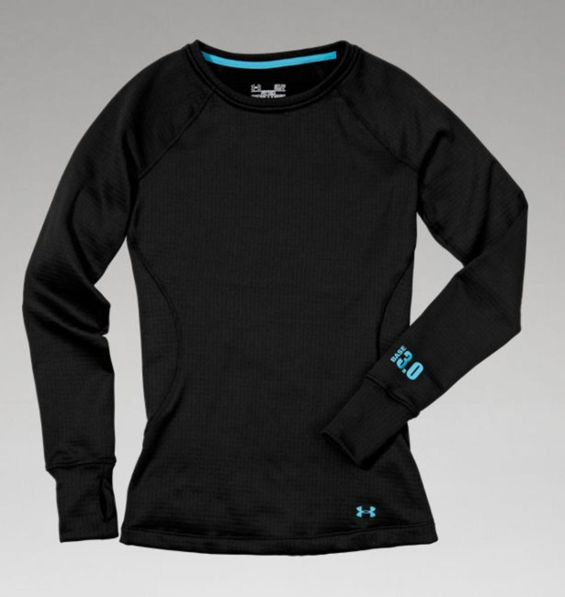 bccdda0e0cb961 Under Armour Women's UA Base 3.0 Crew Shirt - The Warming Store