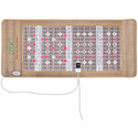 """UTK Photon Far Infrared Heating Mat for Relief, Amethyst and Tourmaline, 24 Photon Red Light Therapy, Memory Function, Auto Shut Off - 73"""" x 32"""""""