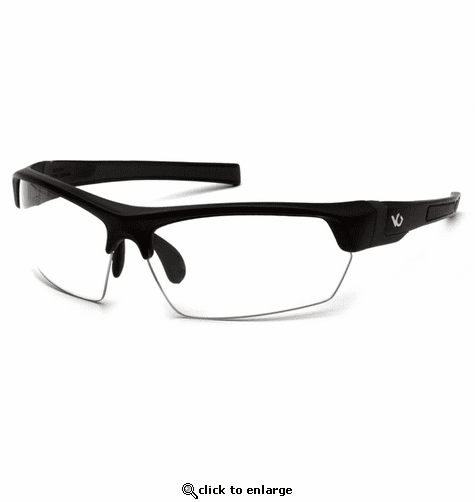 Venture Gear Tensaw Clear Anti-Fog Lens with Black/Gray Frame