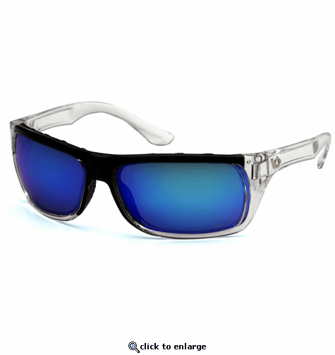 Venture Gear Vallejo Ice Blue Mirror Anti-Fog Lens with Clear Frame