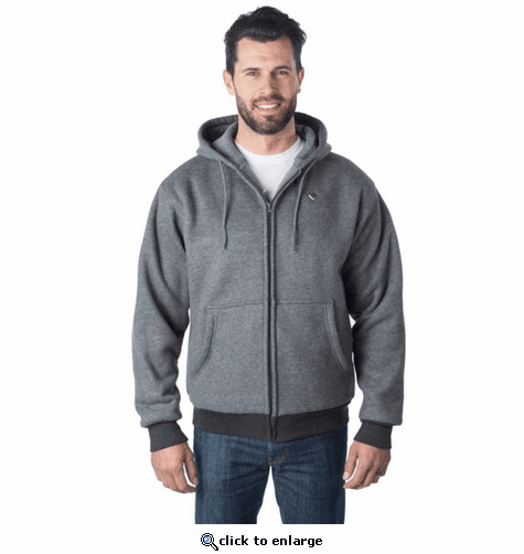 Venture Heat Evolve Heated Hoodie with Power Bank - Gray