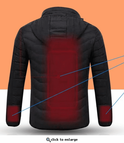 Verseo ThermoGear 5V Battery Heated Puffer Jacket