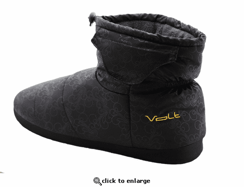 Volt 3V Generation III Heated Indoor/Outdoor Slippers - Fashion Black