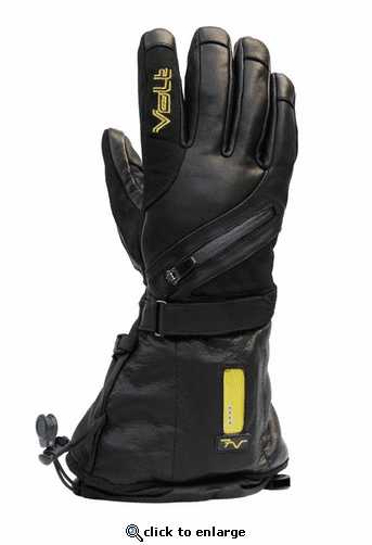 Volt Heat Titan 7V Waterproof Leather Heated Gloves for Men
