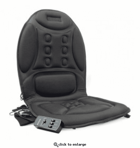 Wagan Deluxe Ergo Comfort Rest Heating & Massage Cushion