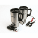 Wagan 12V Heated Travel Mug - 2 Pack