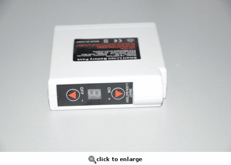 Warm & Safe Battery 7.4Volt 5.2Amp with Controller