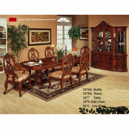 10 ft antique cherry dinette set