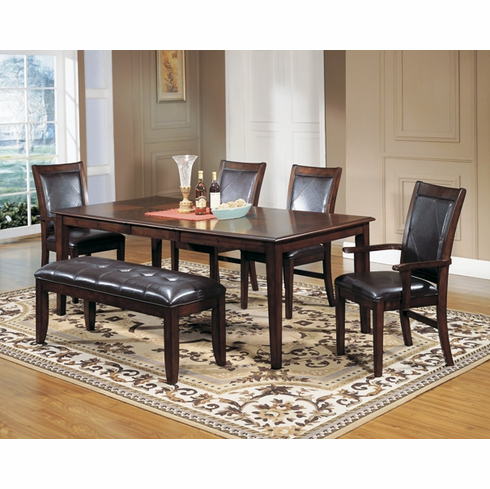 7pcs Dinette Set with Bench