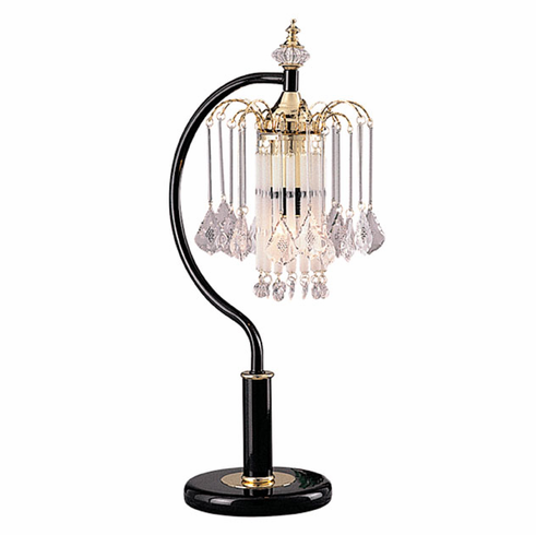 Black Chandelier Touch Lamp (2 pcs/ each is $25.00/each)