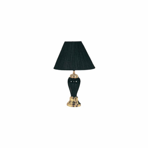 "Black Pocelain Lamp 27"" (2 pcs/ each is $15.00)"