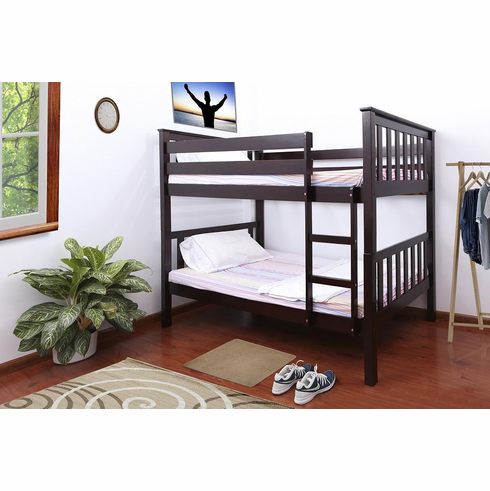*CAPPUCCINO BUNK BED DIVISIBLE TO 2 BEDS