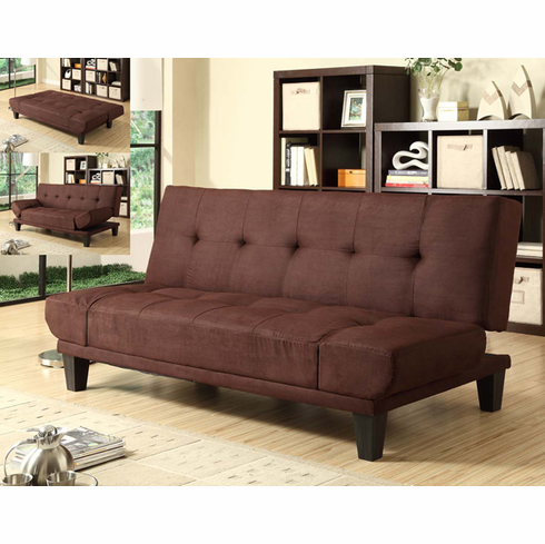 *Dark Brown Klik klak futon bed