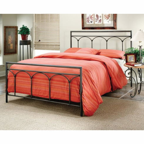 Full Metal traditional housing style Bed