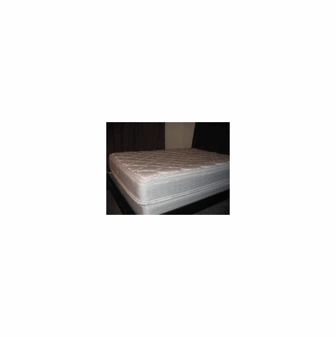 FULL SIZE DOUBLE SIDED PILLOW TOP AND REBUILT MATTRESS AND BOX SPRING
