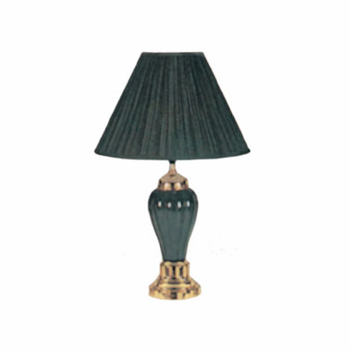 Hunter Green Porcelain Lamp (2pcs/ each is $15.00)