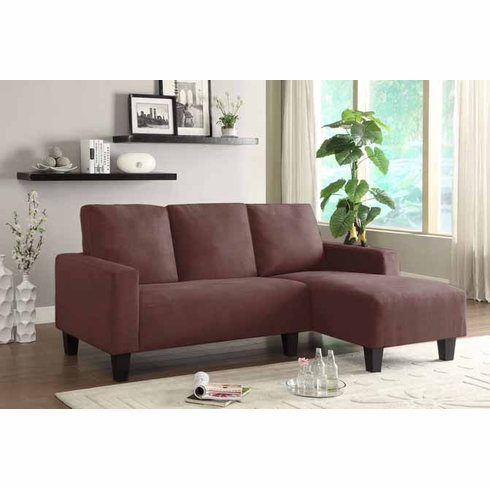 MICROFIBER SECTIONAL SET