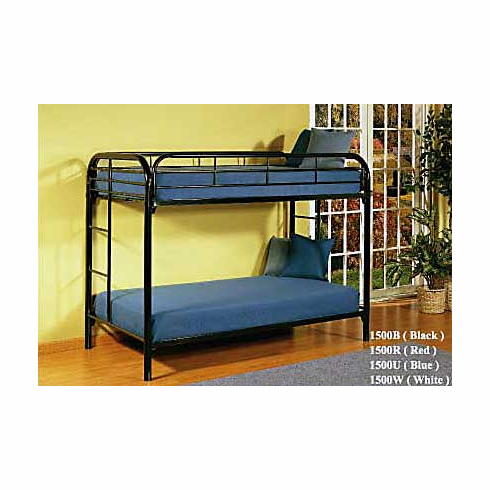 *Twin-Twin metal bunkbed