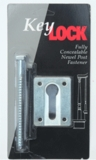 3005 Key Lock - Newel Post Fastener