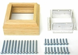 3019 L-Bracket Newel Mounting Kit