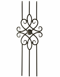 Decorative Iron Panel - 3 Leg