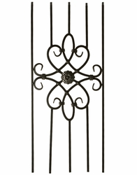 Decorative Iron Panel - 5 Leg