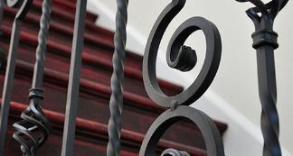 Hollow Iron Balusters
