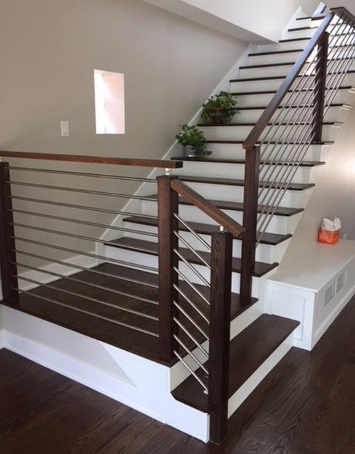 Modern Stair Railing - Stainless Steel Stair Parts