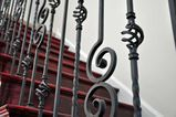 Solid Italian Nautilus Scroll Baluster