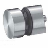 """Stainless Standoff Glass Clamp - 3/8"""""""