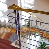 Stainless & Wood Handrail