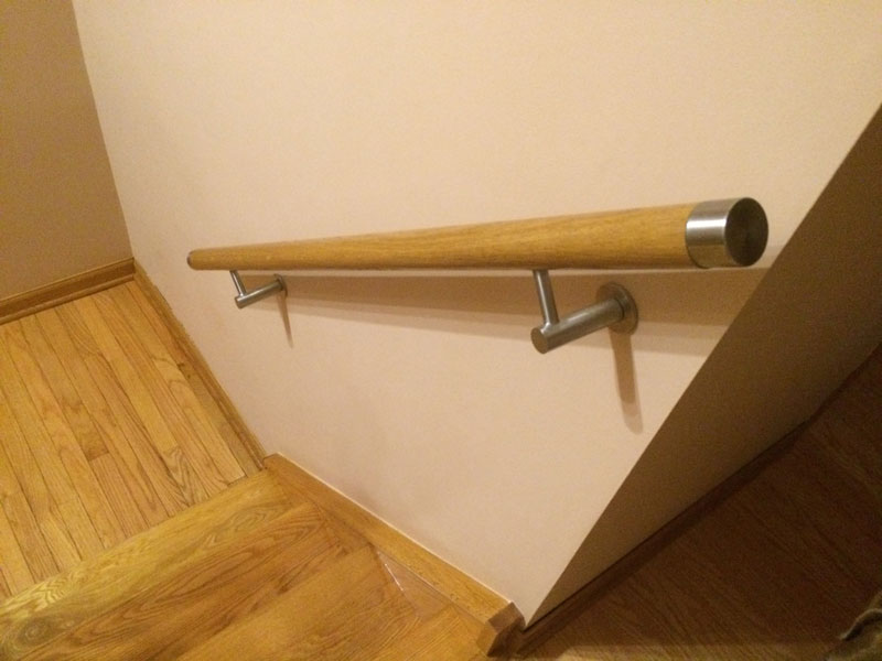 Contemporary Handrail I Modern Round Handrail I Stainless