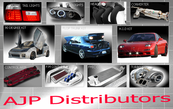 AJP Distributors - Your Source for ALL your Aftermarket Automotive Performance Products & Accessories