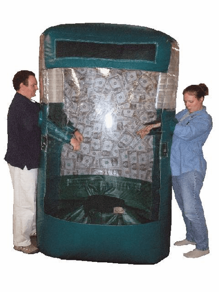 10' Inflatable Cash Cube