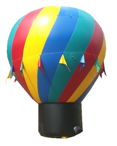 20' Giant Advertising Balloon Spiral Design