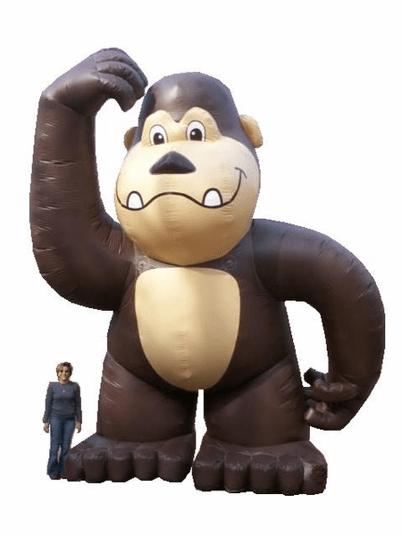 20' Inflatable Gorilla with blower