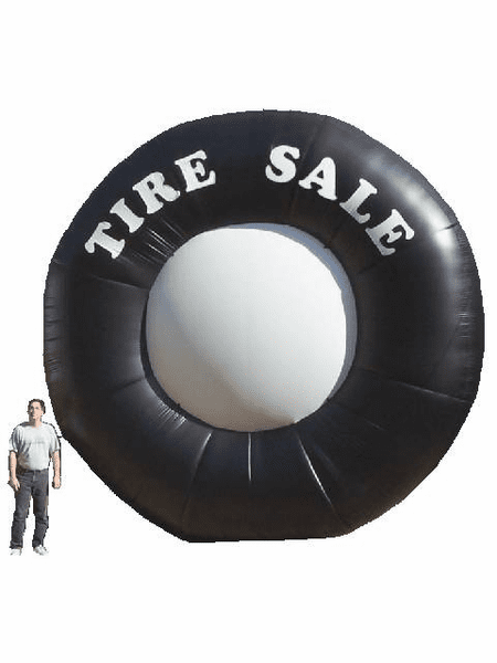 20' Inflatable Tire