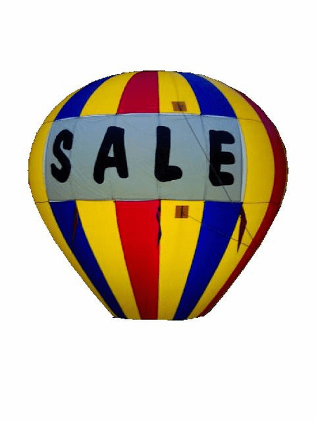 Advertising Balloon Lite Kit (fluorescent)