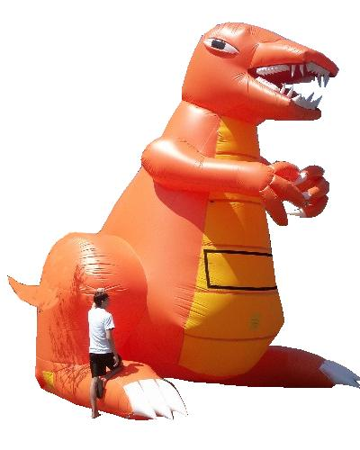 Giant Advertising Inflatable Dinosaur