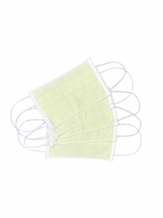 100% Cotton Green Reusable Masks for Adults