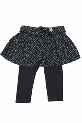 3 Pommes Navy Skirt & Leggings