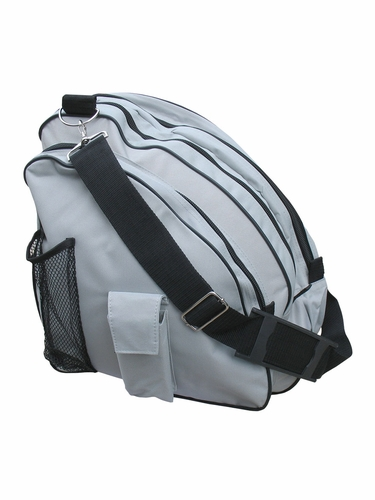 A&R Sports Silver Skate Bag Deluxe