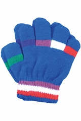 A&R Sports Toddler Royal Stripes Gloves